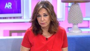 Ana Rosa Quintana le da el pésame a Susanna Griso en directo desde su programa