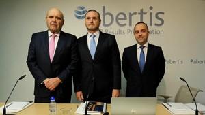 Presentación del informe de resultados de Abertis.