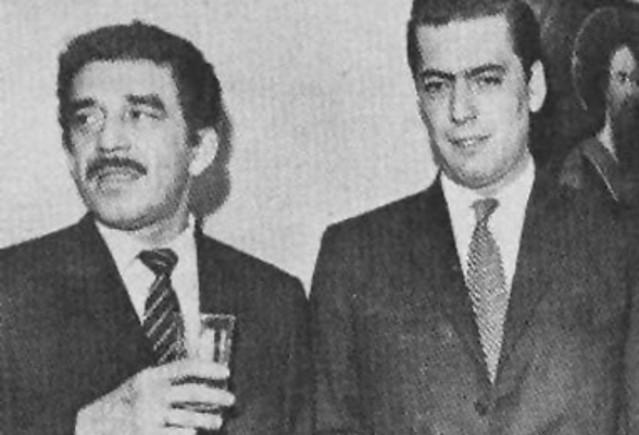 Gabriel García Márquez y Mario Vargas Llosa
