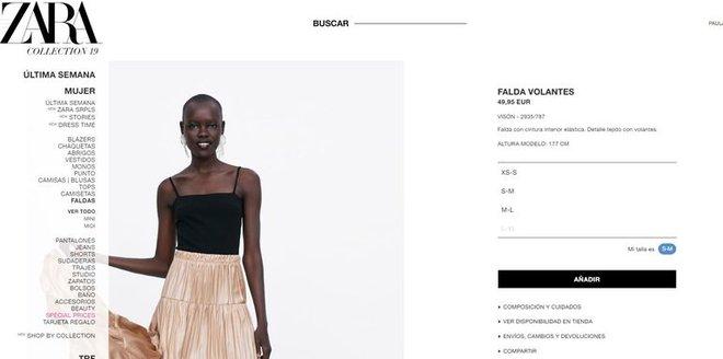 Zara Estrena Nuevas Tallas Para Adaptarse A Todos Los Cuerpos