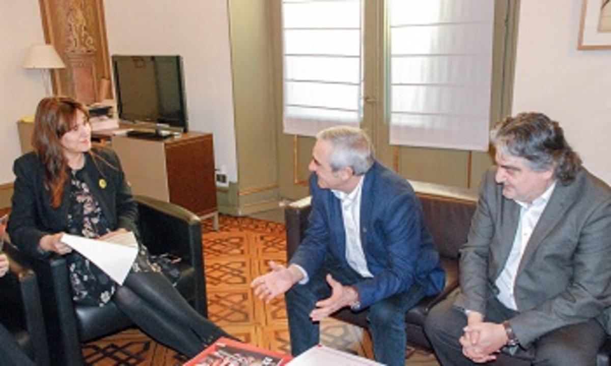L'alcalde de Terrassa proposa la consellera de Cultura que impulsi un Pla de Barris