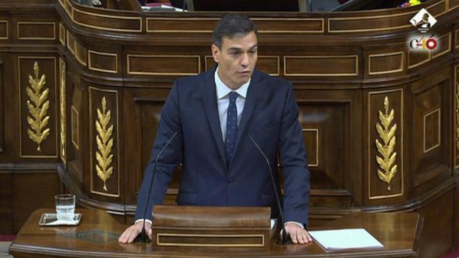 """Sánchez defensa la venda d'armes a l'Aràbia Saudita per """"interès d'Espanya"""""""