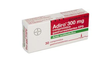 Bayer interrumpe el suministro de Adiro por problemas de producción