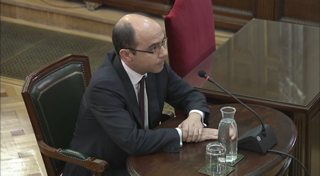 Un excàrrec de Montoro admet que el control de la Generalitat no va poder ser absolut