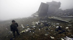Accidente del Yak 42 en mayo del 2003.