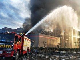 Explosión en una planta química de China.