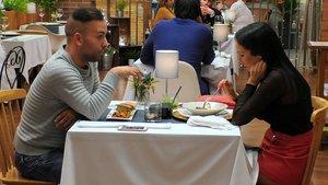 Alberto y Susana en 'First Dates'.