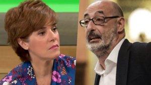 Anabel Alonso y Felisuco.