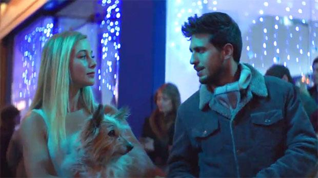 Danielle y Daniel, en el corto de Amenábar que sirve de anuncio de la Lotería de Navidad 2017.