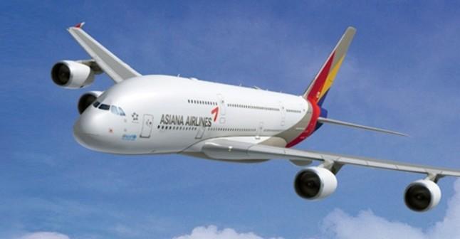 Un avión de Asiana.