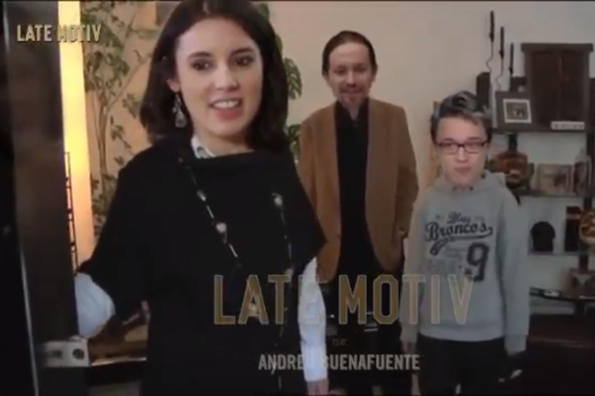 'Bien vive ahí', la parodia de 'Late Motiv' del chalet de Iglesias y Montero