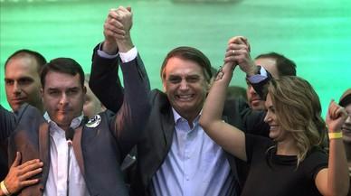 Bolsonaro, un candidato que aterra a Brasil