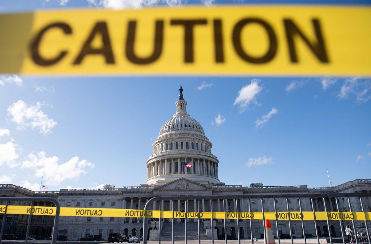 El Capitolio de Washington, este viernes.