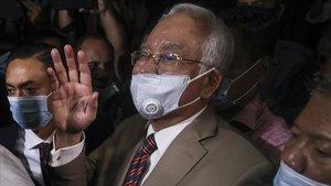 El exprimer ministro de Lamasia,Najib Razak.