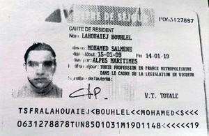 El carnet de identidad del terrorista.