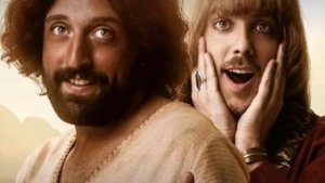 Cartel de la película 'La primera tentación de Cristo'.