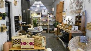 Casa Atlântica es al mismo tiempo un taller, una tienda y un 'showroom' con una atmósfera campestre.