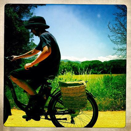 En bici en Cassà de la Selva a S'Agaró, de Philippe González, que tiene cuenta en Instagram desde noviembre del 2010 y cuenta con 82.000 seguidores.