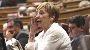 La diputada del PP Celia Villalobos, en el Congreso