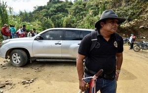 Asesinatos masivos enen el departamento colombiano del Cauca, Colombia.