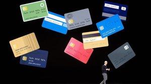 El consejero delegado de Apple, Tim Cook, presenta la tarjeta de crédito Apple Card.
