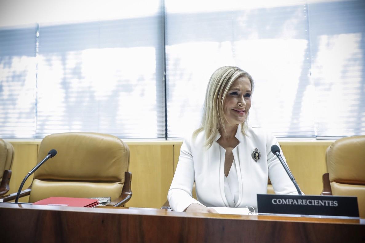 La presidenta regional Cristina Cifuentes.