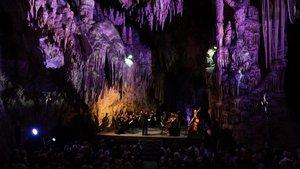 Imagen de uno de los conciertos del pasado Festival de la Cueva de Nerja.