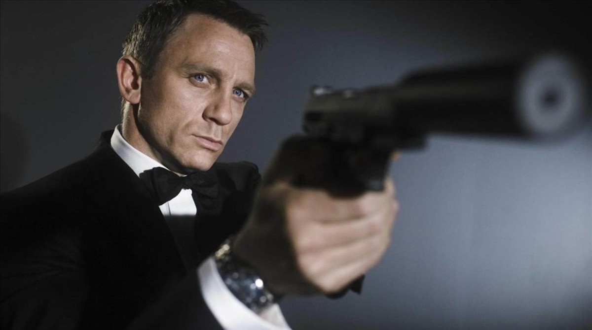 Daniel Craig, en el papel de James Bond.