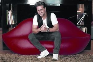 David Bustamante, durante un posado para EL PERIÓDICO.