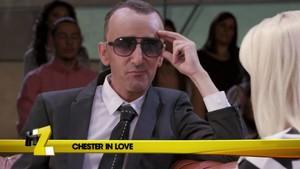 David Fernández imita a Risto Mejide en el programa 'Homo Zapping'.