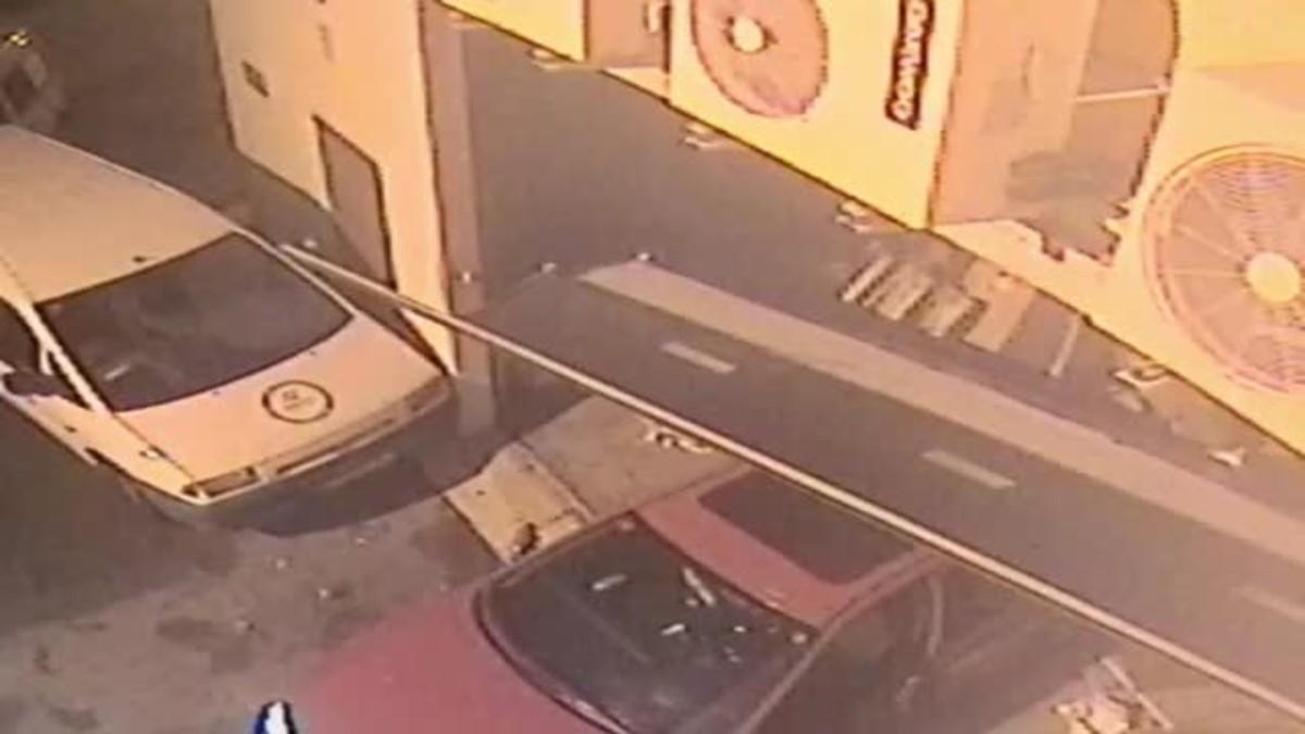 Imágenes de los robos en Martorell, Vilafranca y Sitges.