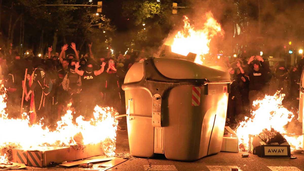 disturbios frente conselleria interior 1571257503352