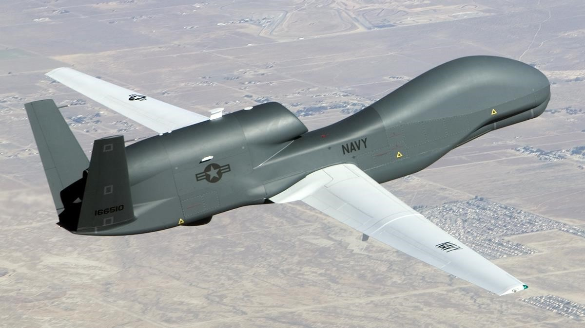 Un dron Global Hawk.
