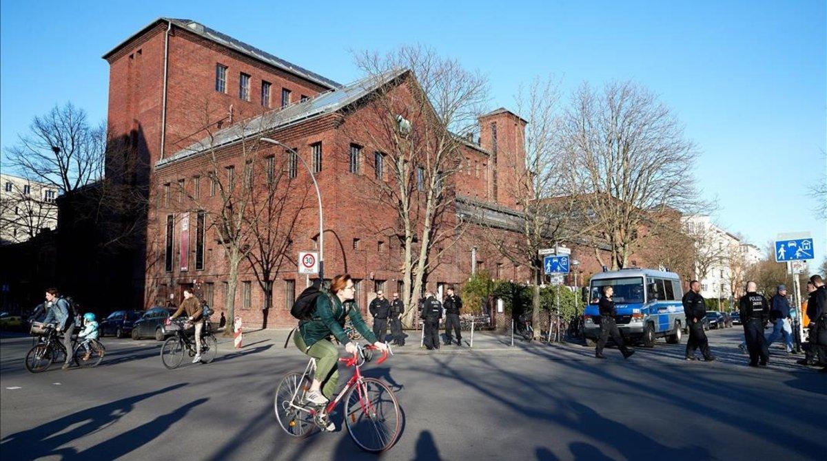 El edificio donde Google proyectaba construir su centro de startups en Berlín.