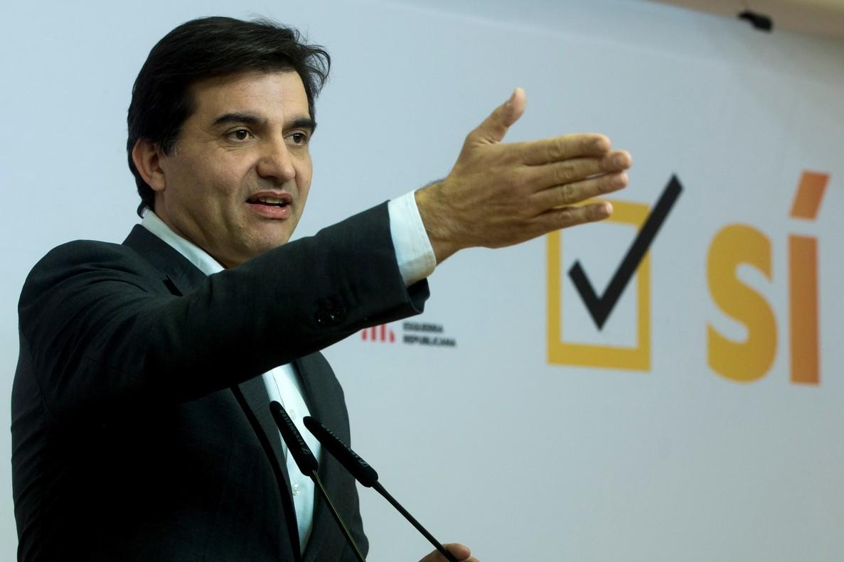 El portavoz de ERC, Sergi Sabrià: Que recaiga todo el peso de la justicia sobre los responsables.