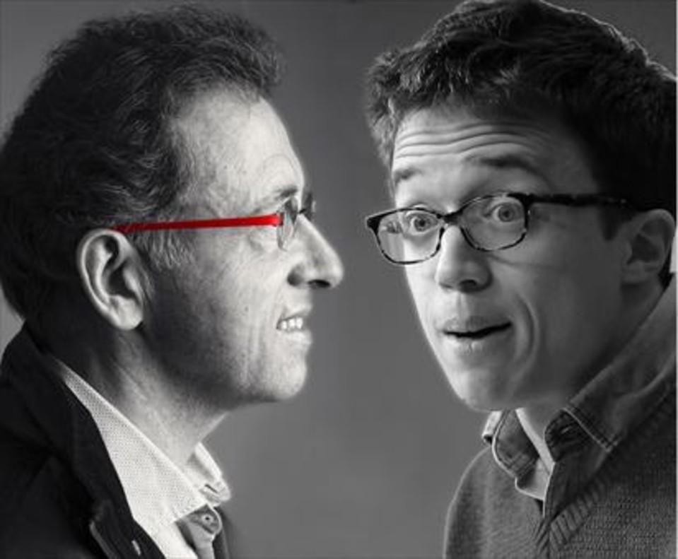 Errejón y Jordi Hurtado