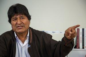 Morales se encuentra en Argentina desde el pasado diciembre.