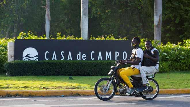 Exterior del complejo hotelero Casa de campo, en la República Dominicana.