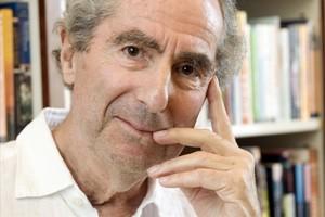 Philip Roth posa per a una foto a les oficines de la seva editorial Houghton Mifflin.
