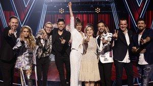 Estos son los cuatro finalistas de 'La voz' que competirán por la victoria