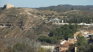 Terrenos del antiguo vertedero municipal, donde se sospecha que hay un punto de contaminación no declarado por Ercros.