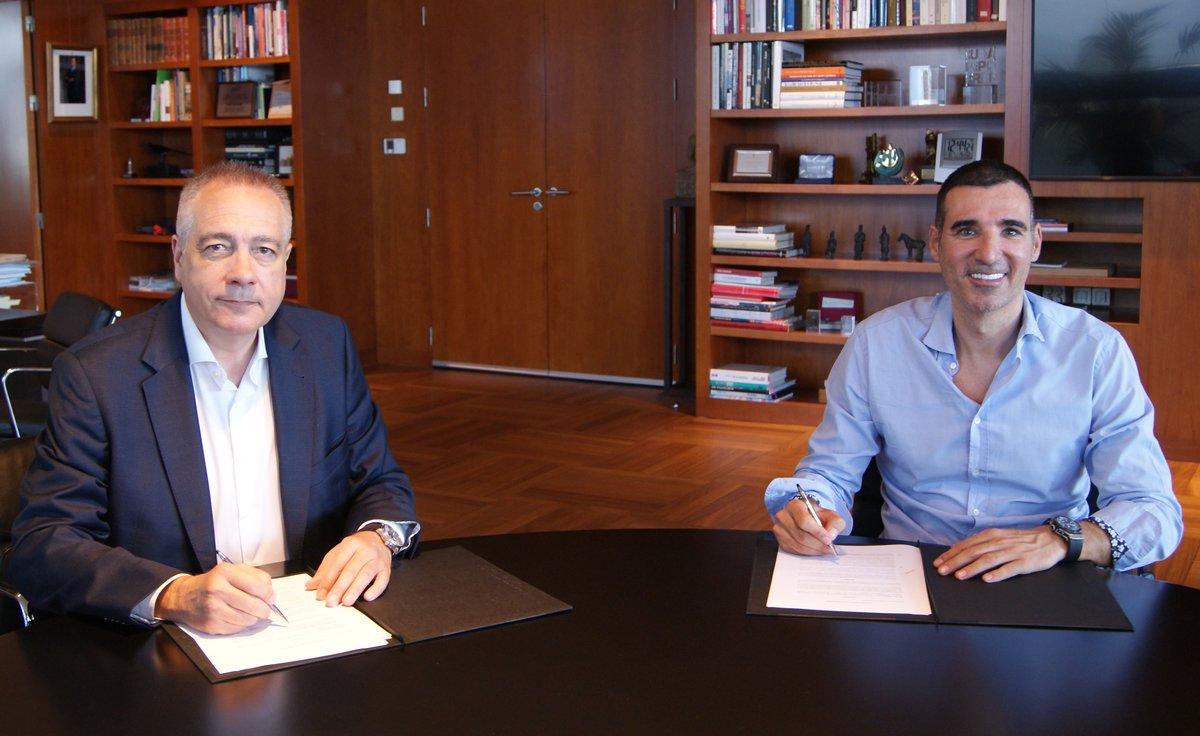 Pere Navarro y Miquel Vicente.