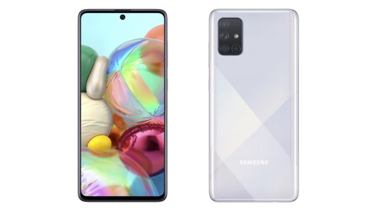 El Samsung Galaxy A71, con 5G.