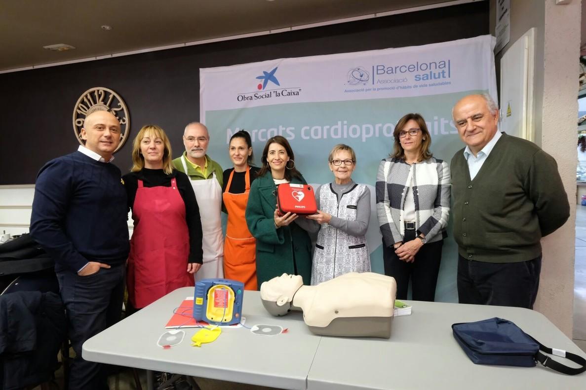 Foto de grup de la presentació del projecte el 13 de desembre.