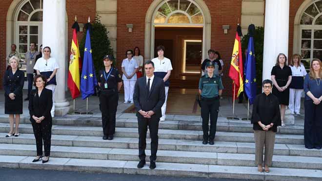 Minut de silenci a tot Espanya per les víctimes del coronavirus