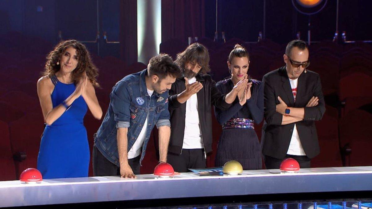 El jurado de la quinta edición de 'Got Talent España'.