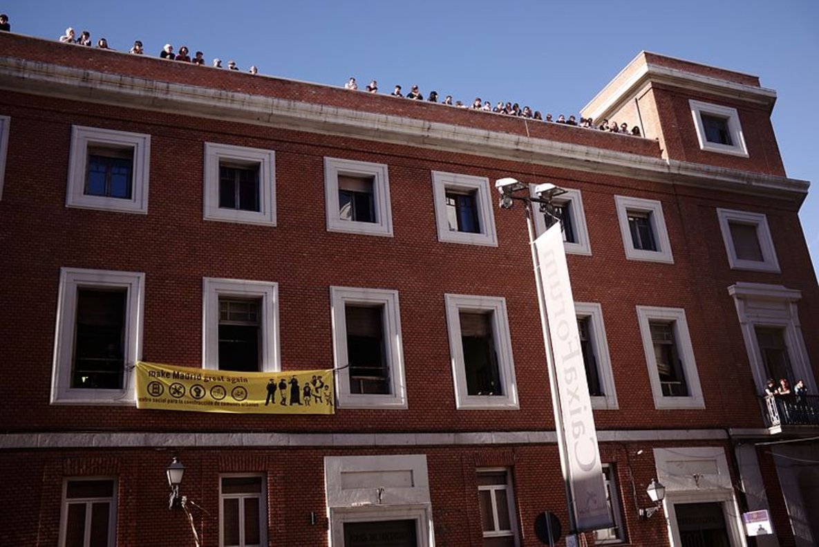 El centro social La Ingobernable.