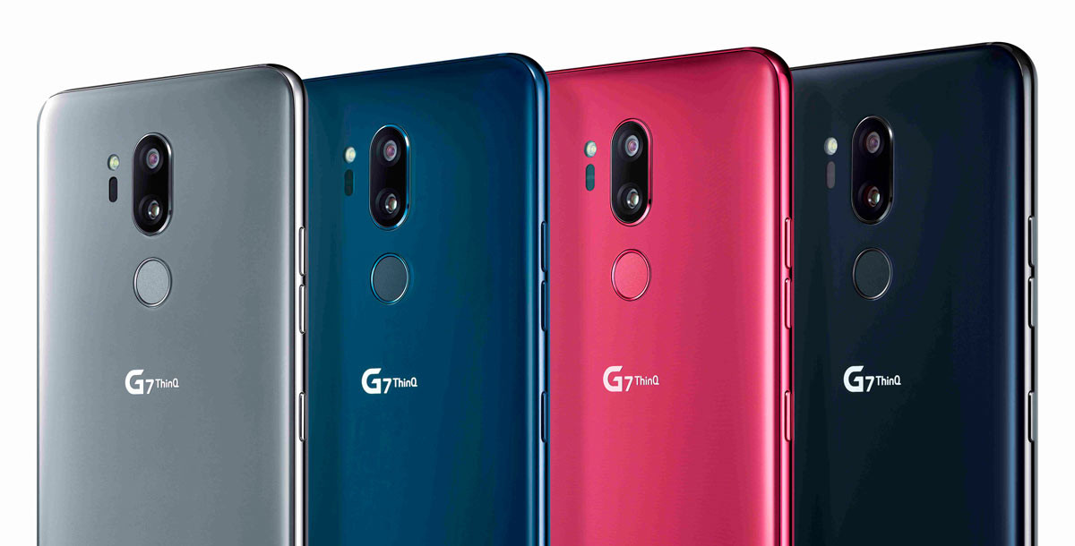 Nuevo modelo de LG, G7ThinQ
