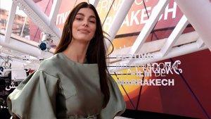 Camilla Morrone, este viernes en el Festival de Cine de Marraquesh.