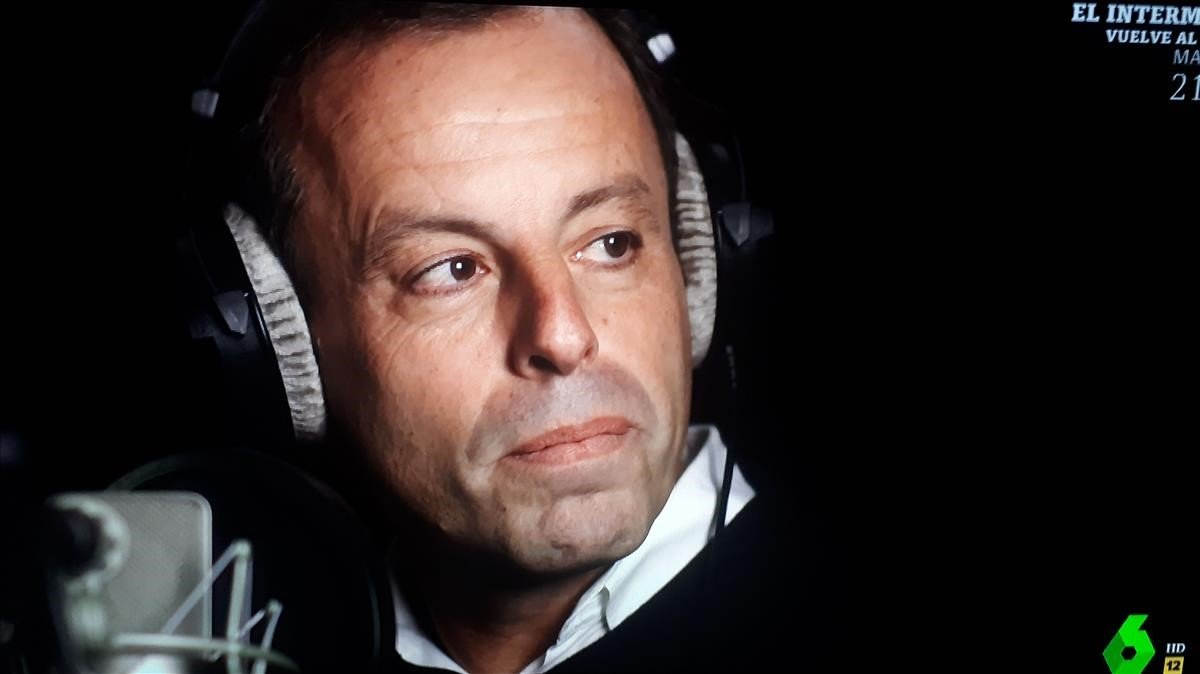 Sandro Rosell, en 'Lo de Évole' (La Sexta).